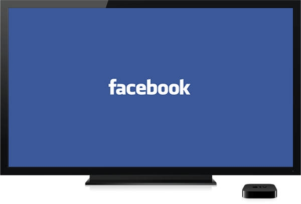 facebook TV-apple